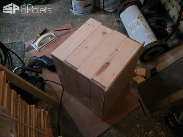 Little Pallet Chest For My Wood-burner Pallet Boxes & Chests