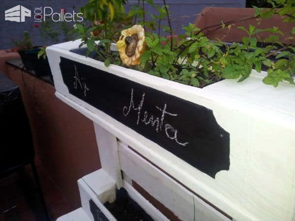 Pallet Outdoor Furniture For Herbs Pallet Planters & Compost Bins