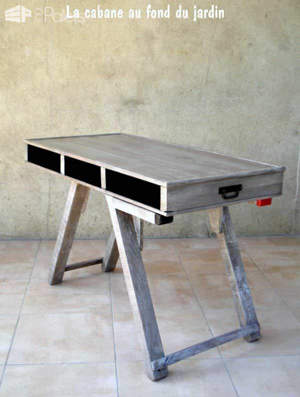 Modular Pallet Coffee Table Pallet Desks & Pallet Tables