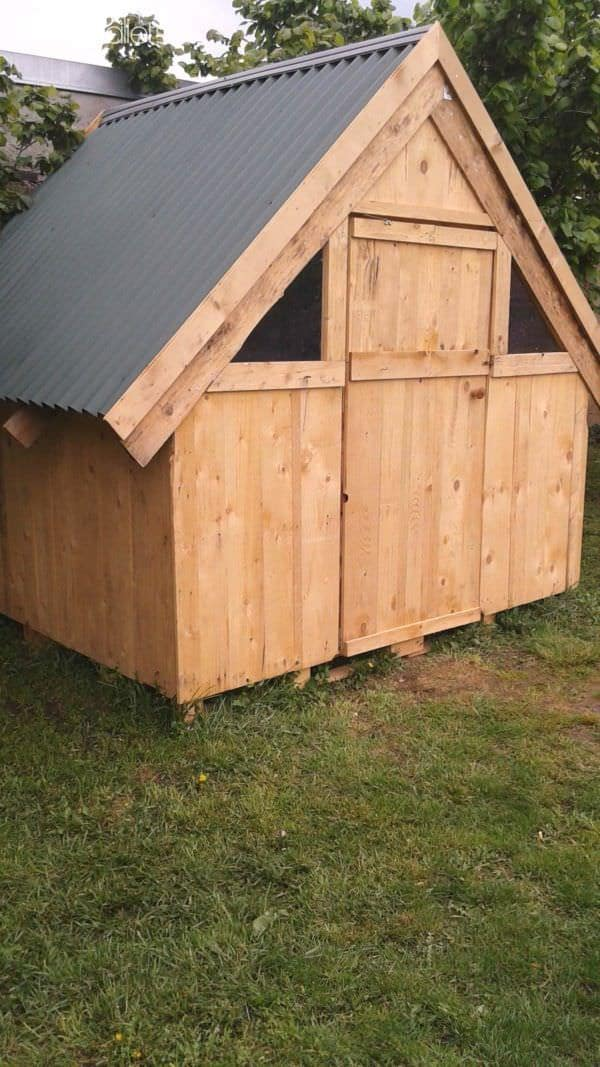 Childrens Playhouse Pallet Sheds, Cabins, Huts & Playhouses