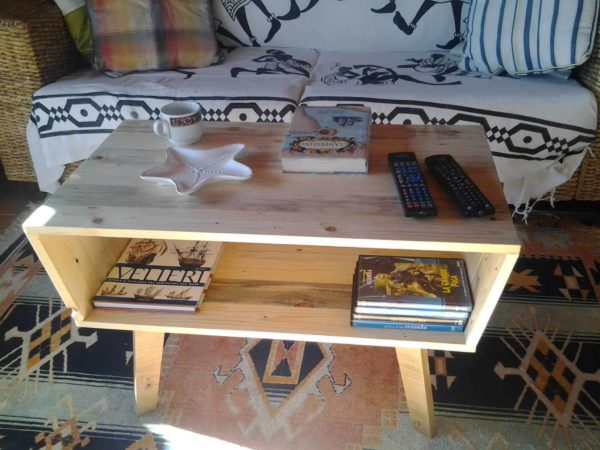 Pallet Coffee Table – 70's Design Pallet Coffee Tables
