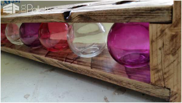 Pallet Flower Vase Standard Pallet Home Accessories