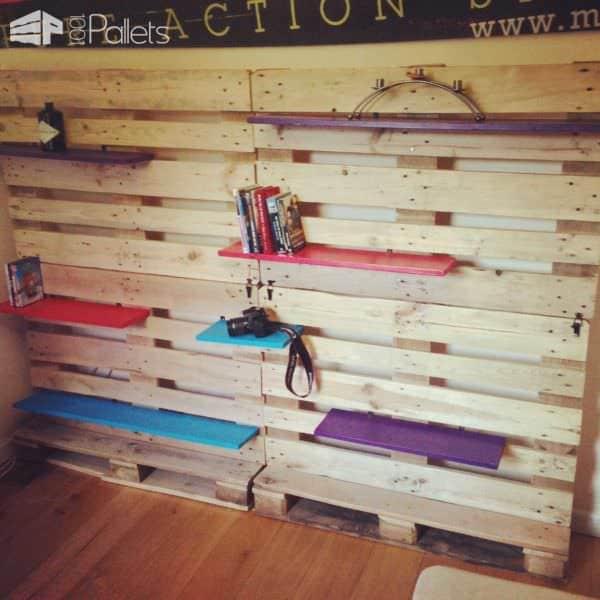 Uppall Modular Pallet Shelving Pallet Shelves & Pallet Coat Hangers