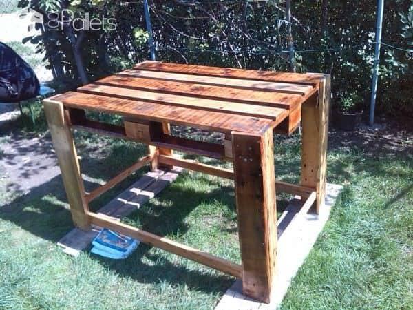 Little Pallet Kitchen Table Pallet Desks & Pallet Tables