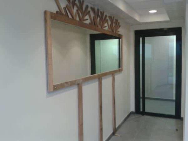 Miroir En Bois De Palette / Pallet Mirror Pallet Wall Decor & Pallet Painting
