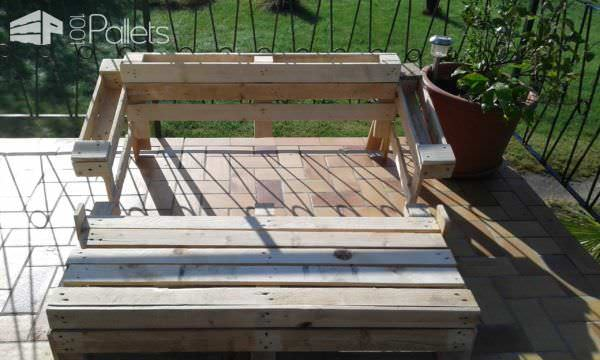 Pallet Outdoor Sofa Pallet Sofas & Couches
