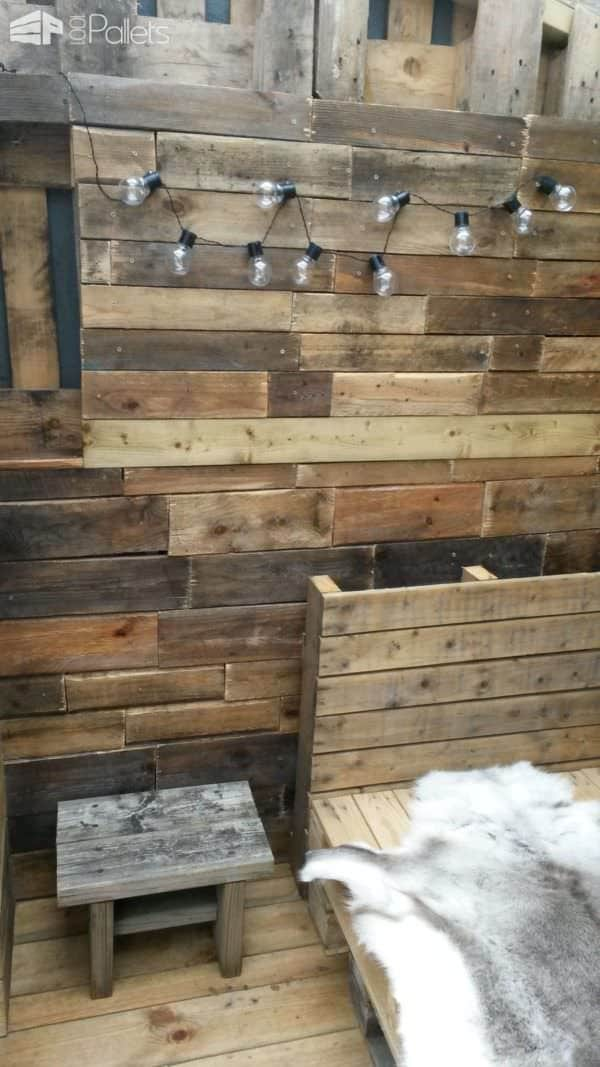 Pallet Summer House Pallet Sheds, Cabins, Huts & Playhouses