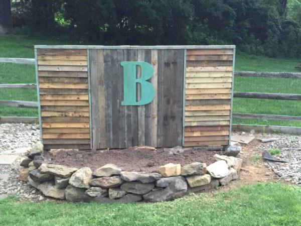 Pallet Fence For Hiding Pool Pump Pallet Fences