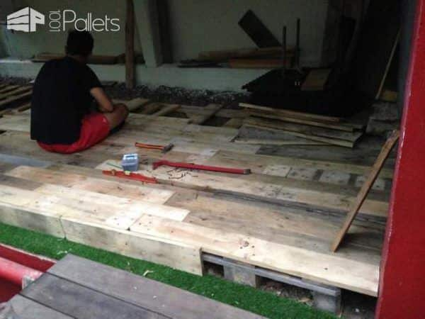 Outdoor Pallet Lounge Lounges & Garden Sets