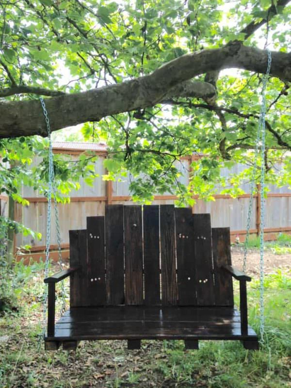 Pallet Bench Swing Pallet Benches, Pallet Chairs & Stools