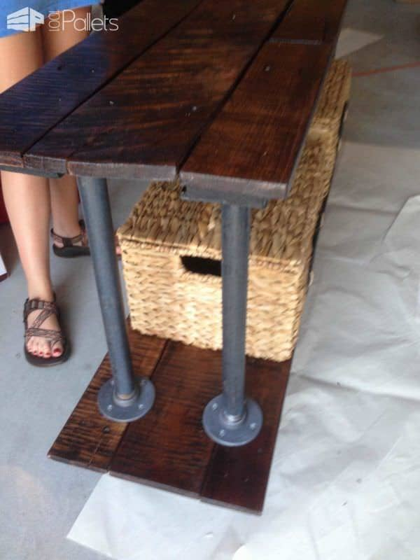 Pallet Coffee / Breakfast Station Pallet Bars