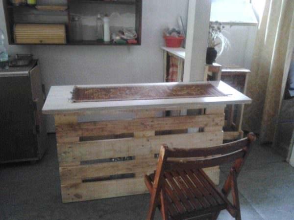 Pallet Cottage Kitchen Pallet Desks & Pallet Tables
