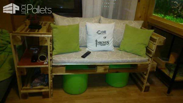 Pallet Couch Pallet Benches, Pallet Chairs & Stools