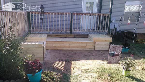Pallet Garden Set Pallet Sofas & Couches