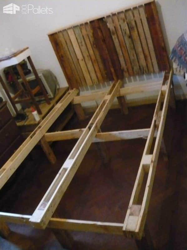 Slatted Bed Frames From Pallets Pallet Beds, Pallet Headboards & Frames