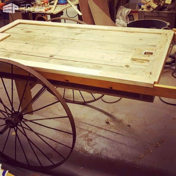 Wedding Cart From Pallets Pallet Store, Bar & Restaurant Decorations