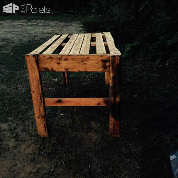 Bbq Outdoor Table Pallet Desks & Pallet Tables