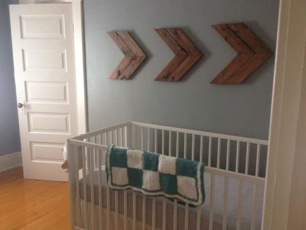 How to Make Pallet Chevrons for Wall Decor Pallet Wall Decor & Pallet Painting