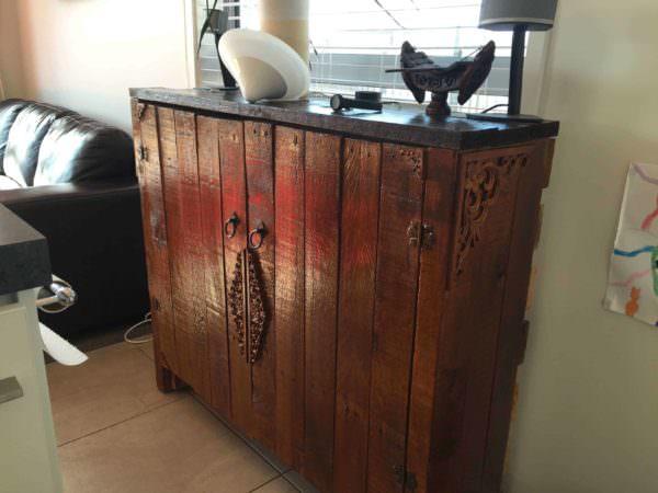 Pallet Sideboard Pallet Cabinets & Wardrobes