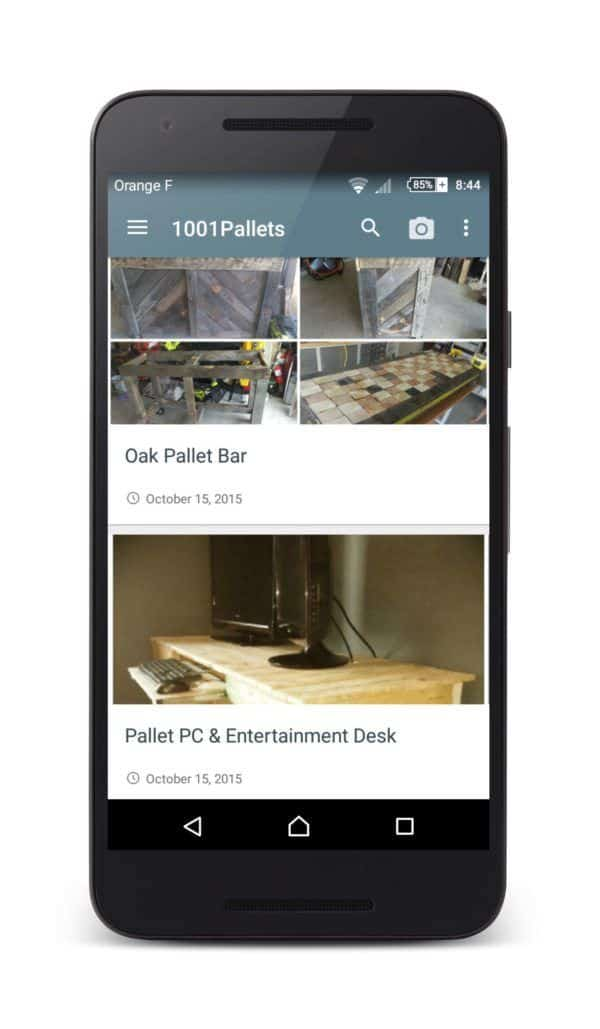 1001pallets Android App Is Available Pallet Crafter Interviews Pallet Furniture Pallet Home Décor Ideas Pallet Projects Pallet Tutorials Pallets in the Garden
