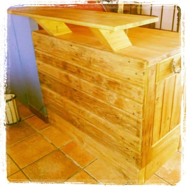 64 Awesome Wooden Pallet Bars For Your Inspiration! Pallet Bars