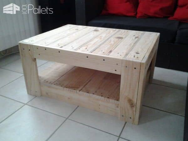 Table Basse En Palette Pallet Coffee Tables