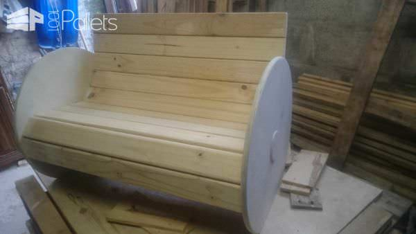 Toddler Bench Pallet Benches, Pallet Chairs & Stools
