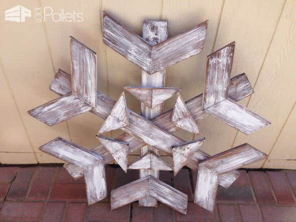 65 Pallet Christmas Trees & Holiday Pallet Decorations Ideas Pallet Home Décor Ideas