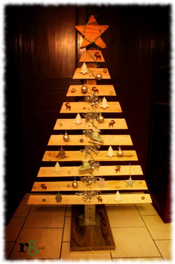 My Christmas Trees Pallet Home Accessories