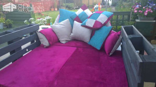 Outside Sofa/Bed & Crate Table Lounges & Garden Sets Pallet Sofas & Couches