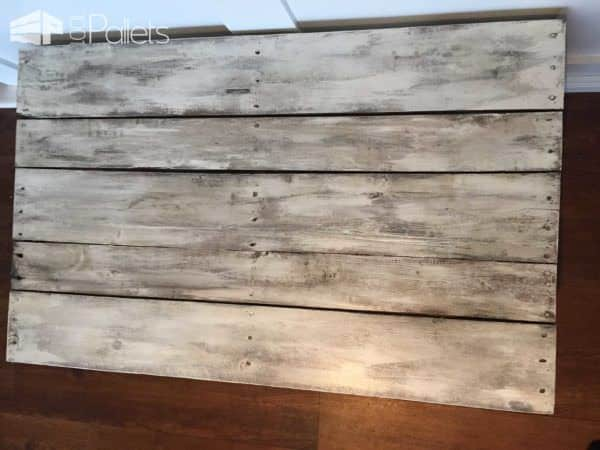 Rustic Painted Pallet Coffee Table Pallet Coffee Tables