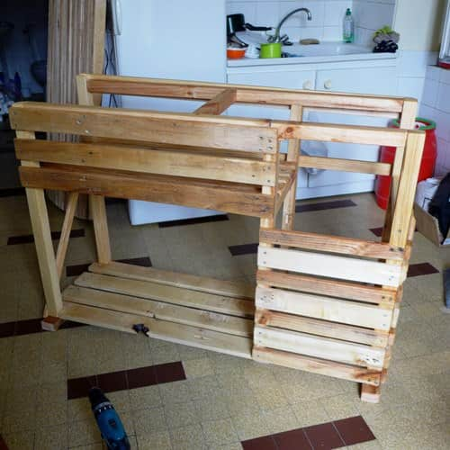 Tkt: The Kitchen Project (Kitchen Island & Table) Pallet Bars