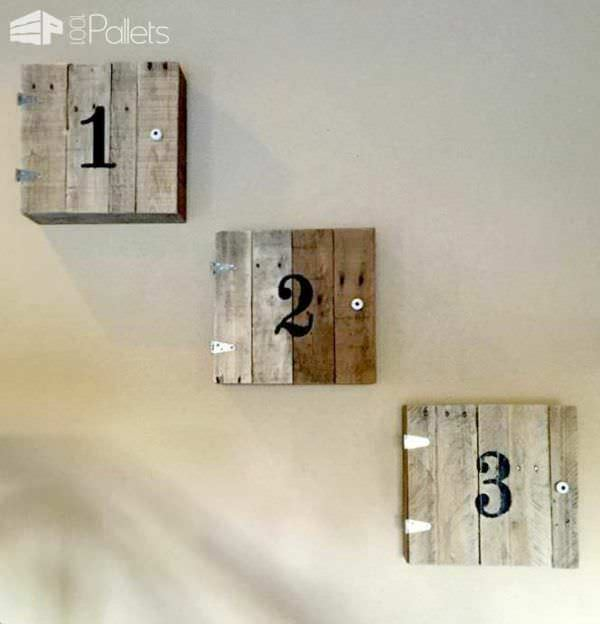 Garage Stairs Makeover With Pallets Pallet Staircases