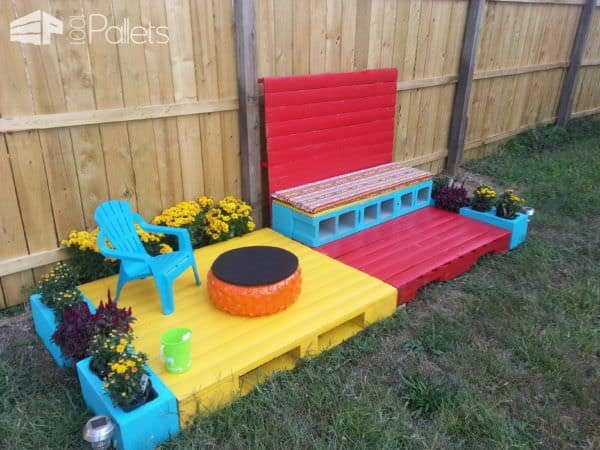 How I Built My Grand Daughter Her Own Patio Fun Pallet Crafts for Kids
