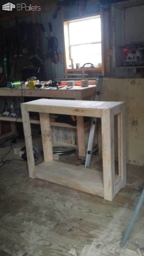 Japanese Pallets Of Bamboo & Pine Pallet Coffee Tables