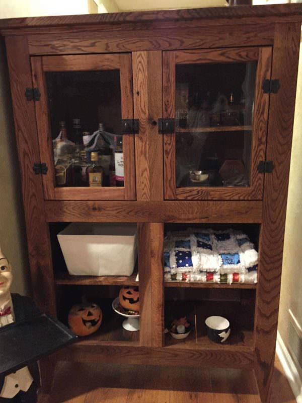 Oak Cabinet Pallet Cabinets & Wardrobes