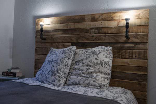 Tête De Lit / Pallet Bed Headboard Pallet Beds, Pallet Headboards & Frames