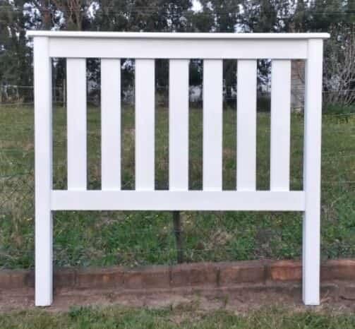 White Pallet Bed Headboard Pallet Beds, Pallet Headboards & Frames