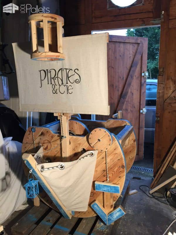 Breathtaking Pallet Kids Rocking Boat Fun Pallet Crafts for Kids