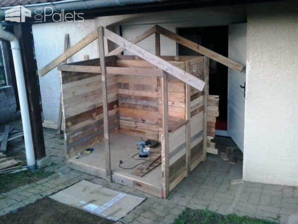 Cabane De Jardin Pour Enfants / Children Play House & Its Making of Pallet Sheds, Cabins, Huts & Playhouses