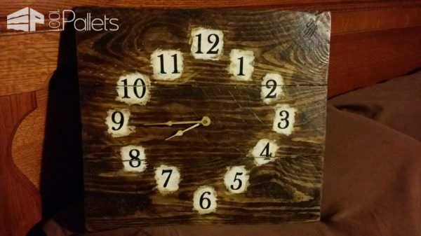 Clocks Clocks Clocks & More Pallet Clocks Pallet Store, Bar & Restaurant Decorations