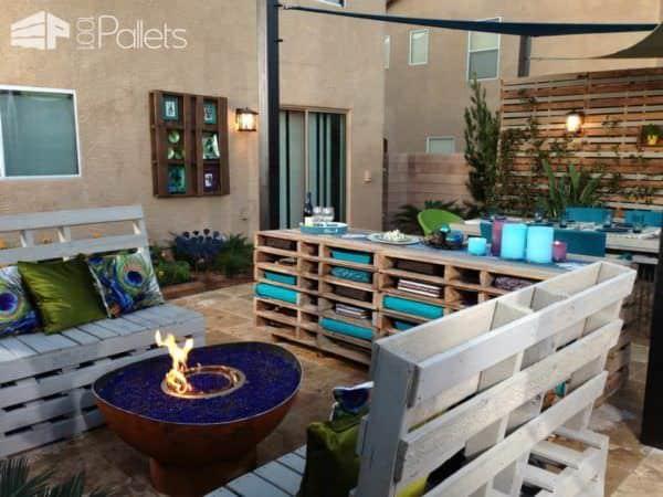 Modern Outdoor Terrace Lounges & Garden Sets