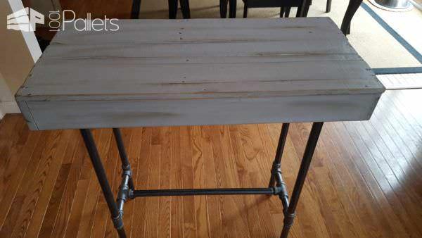 Pallet Console Table Pallet Desks & Pallet Tables