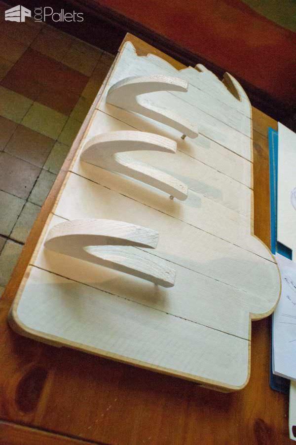Porte Manteau En Bois De Palette / Pallet Coat Hanger Pallet Shelves & Pallet Coat Hangers