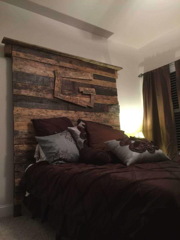 Queen Size Pallet Bed Headboard Pallet Beds, Pallet Headboards & Frames