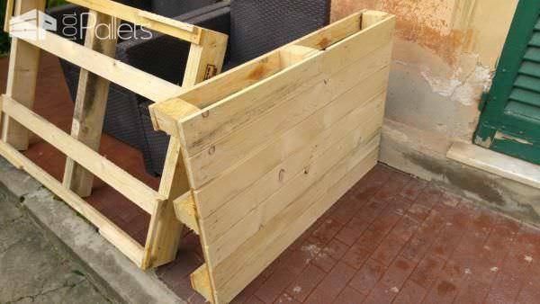 Tv Stand Out of 2 Pallets Pallet TV Stands & Racks