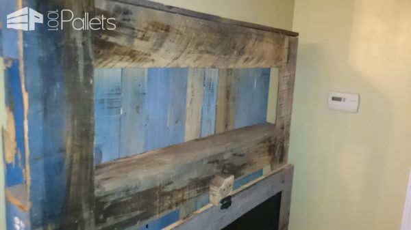 Wall Hanging & Folding Desk Pallet Desks & Pallet Tables