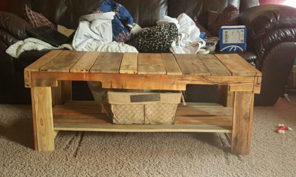 Custom Pallet Table Pallet Coffee Tables