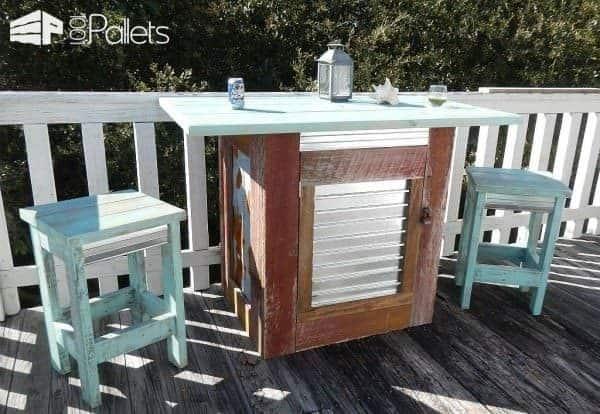 Florida Found Furniture Pallet Desks & Pallet Tables