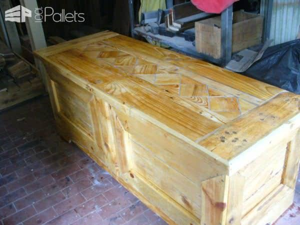 Pallet Blanket Chest Pallet Boxes & Chests